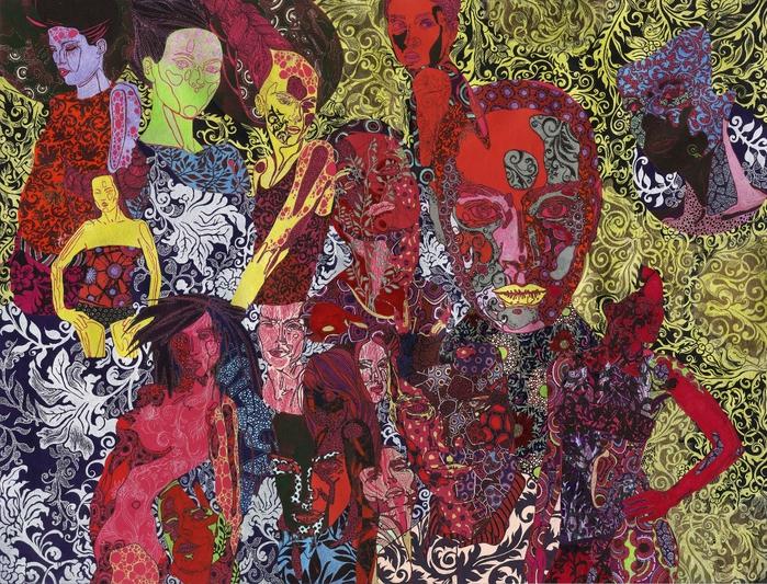 картины художницы Сони Сухарян 1 (700x533, 442Kb)