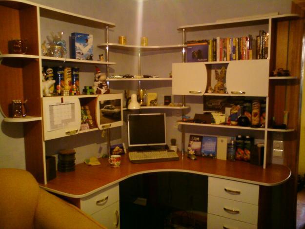 Угловой домашний офис - удобно и компактно. обсуждение на li.