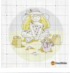 Превью Calendar 2005 Margaret Sherrys Little Kate Aug Chart (665x700, 387Kb)