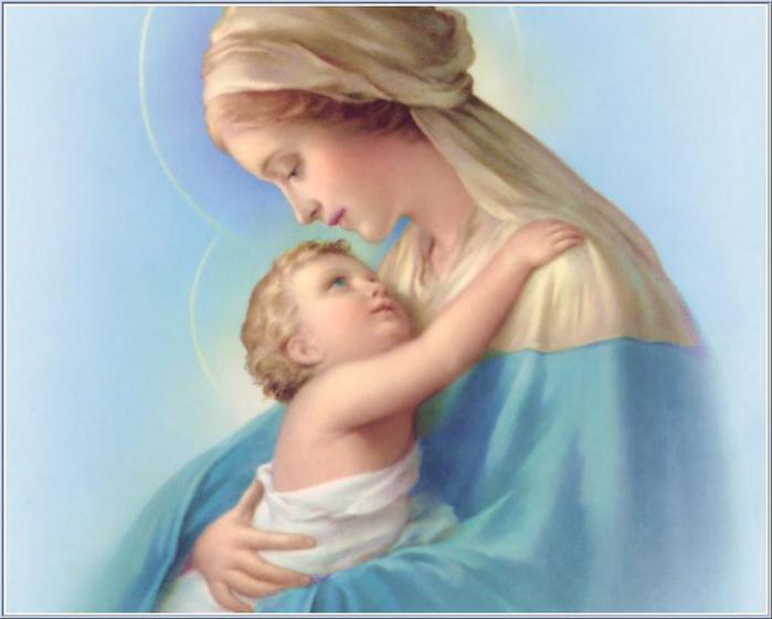Изображения Девы Марии с сыном Иисусом. Обсуждение на LiveInternet - Российский Сервис Онлайн-Дневников