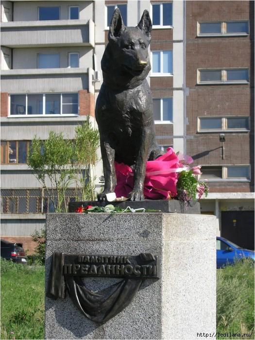 собака памятник (525x700, 260Kb)