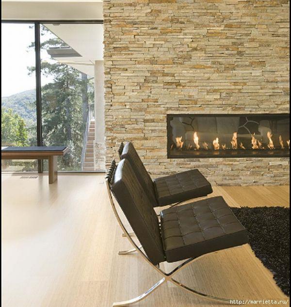 камины в интерьере (56) (600x633, 183Kb)
