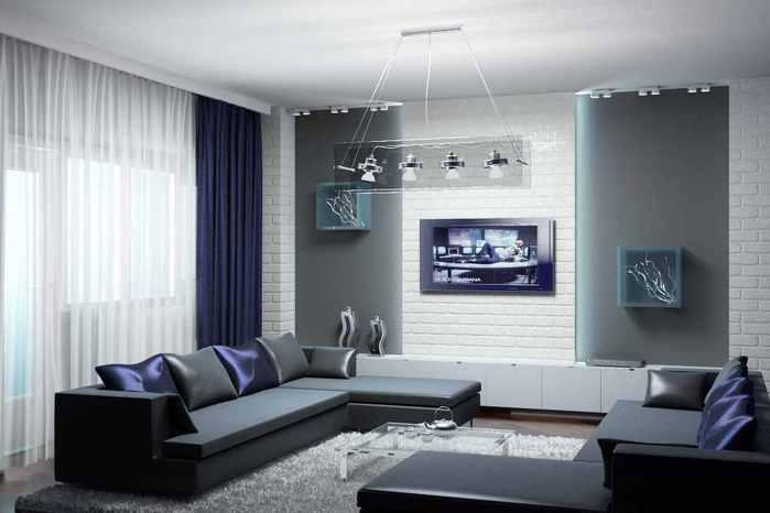 Мужской дизайн комнат