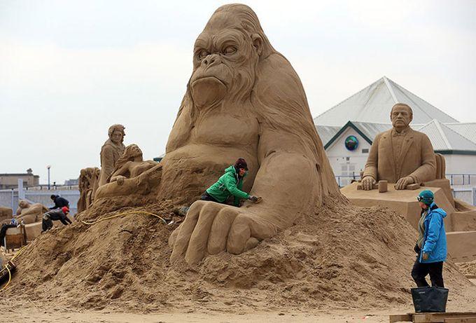 песчаные скульптуры фото 7 (680x461, 67Kb)
