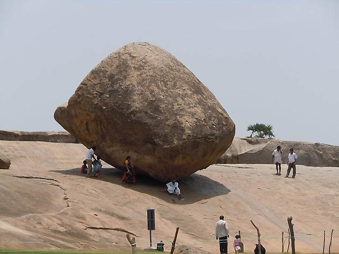 масляный камень Махабалипурам индия фото (694x520, 46Kb)