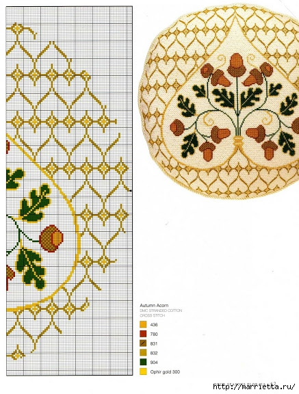 вышивка круглых подушек для дивана (9) (437x576, 232Kb)