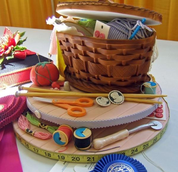 Дизайн креативных тортов