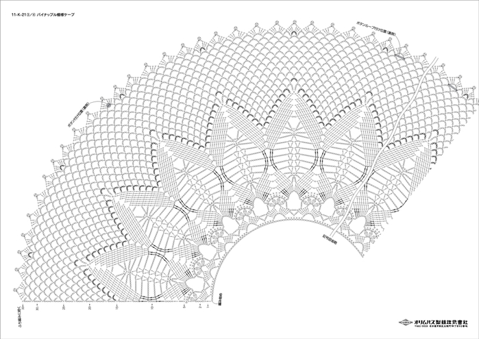 Болеро с круглой кокеткой крючком схемы