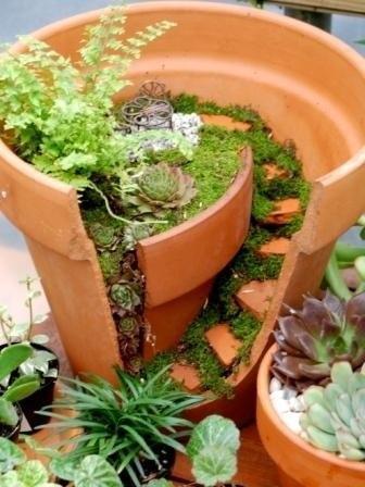 Миниатюрный сад самое интересное в