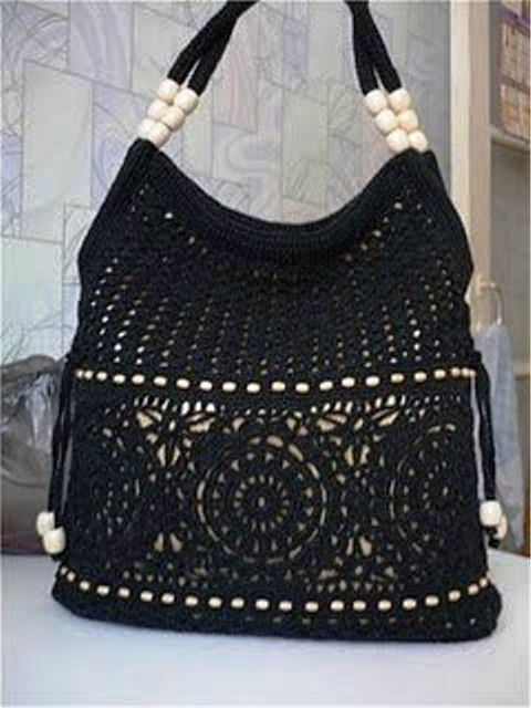 Связать красивые сумки крючком по схемам