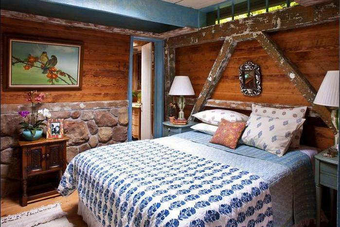Дизайн дачного дома комнат