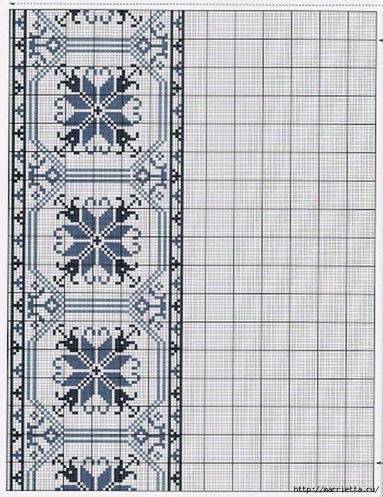 Вышивка на скатерти. Схемы (4) (539x700, 317Kb)