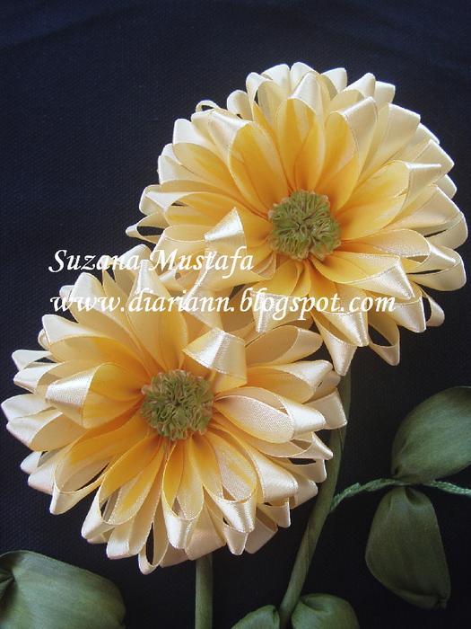 вышивка летнами. хризантемы (10) (525x700, 204Kb)
