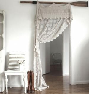 Curtain instead