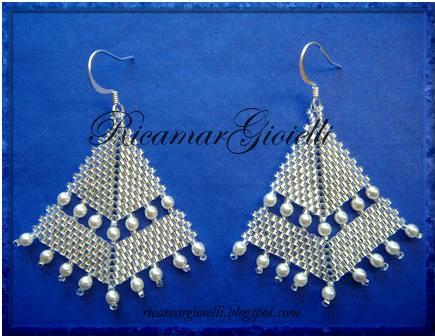 Orecchini a punta di freccia_silver lined crystal e perle avorio_DSCN2459_blog (435x336, 114Kb)
