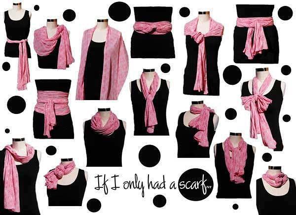 как завязывать шарф страница 4