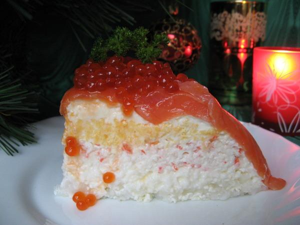 Соблазнительный дизайнерский рыбный торт (3) (600x450, 72Kb)