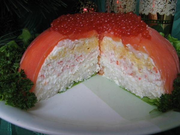 Соблазнительный дизайнерский рыбный торт (7) (600x450, 78Kb)