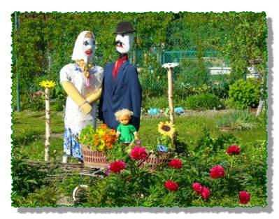 Садовые украшения декоративные фигурки своими руками - Поделки