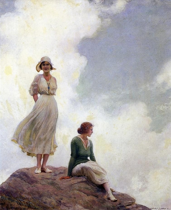 Charles_Courtney_Curran_-_The_Boulder (572x700, 300Kb)
