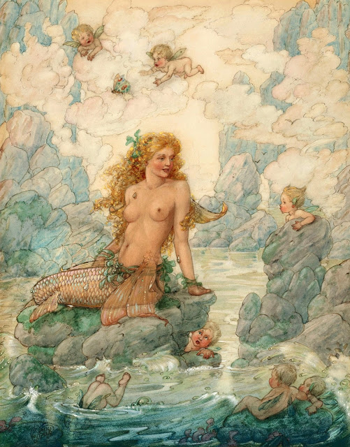 Harold.Gaze.Mermaid.Cherubs. (501x640, 138Kb)