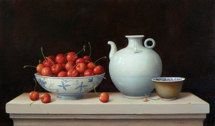 Cherries Bowl & Vessel - (699x411, 54Kb)