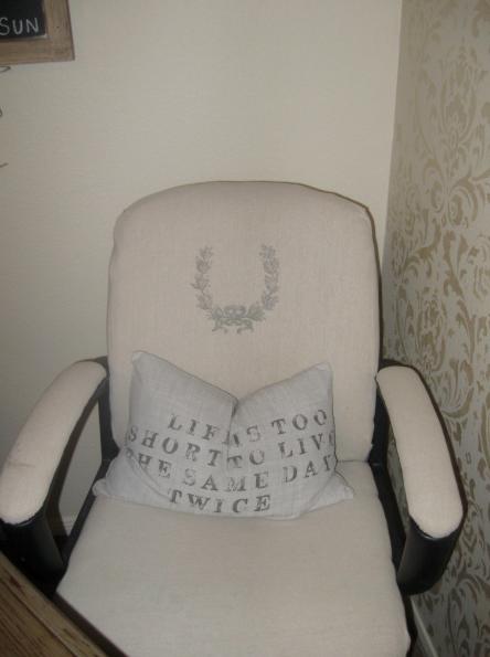 Винтажное кресло. перенос изображения на ткань (4) (444x595, 463Kb)