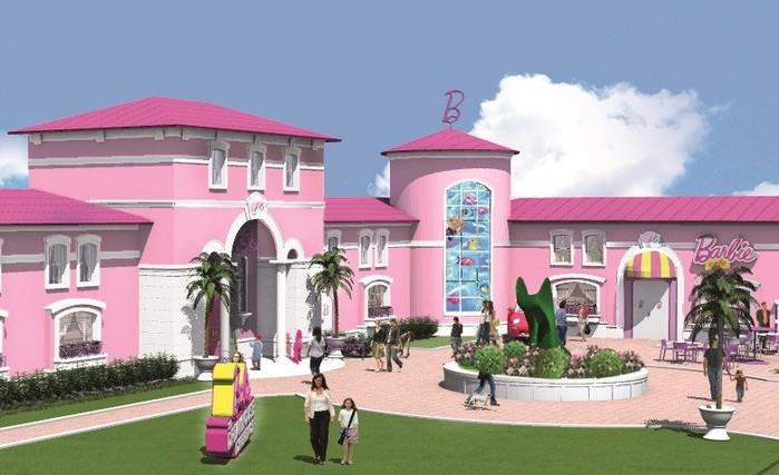 Barbie Dreamhouse Experience  дом барби в берлине 6 (700x427, 80Kb)