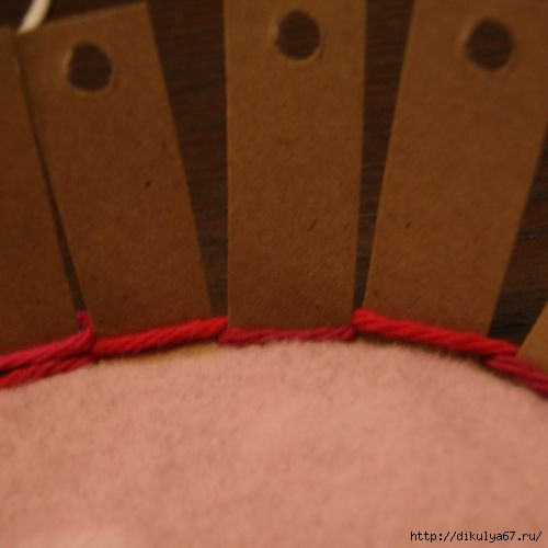 Плетение корзинки-сердечка.  Техника макраме.