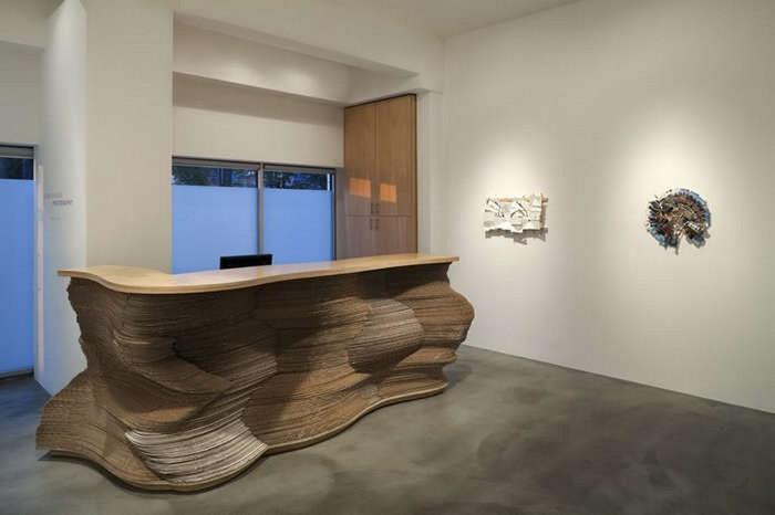 Мебель из картона в интерьере вашего дома 1 (700x466, 37Kb)