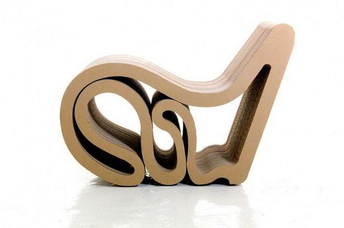 Мебель из картона в интерьере вашего дома 15 (700x464, 43Kb)