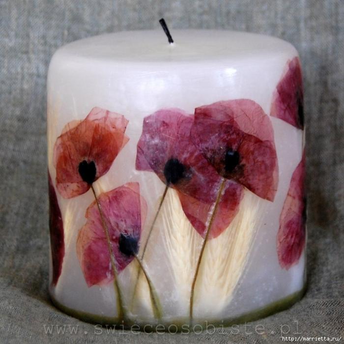 цветочные свечи ручной работы (2) (700x700, 312Kb)