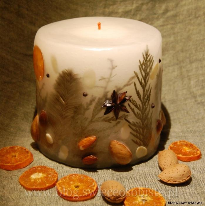 цветочные свечи ручной работы (18) (698x700, 331Kb)