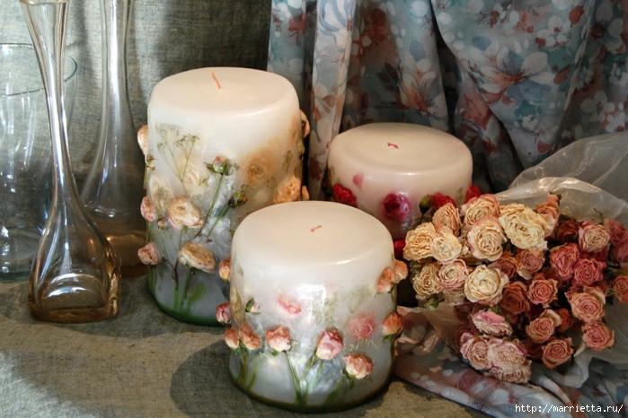 цветочные свечи ручной работы (28) (700x466, 218Ko)