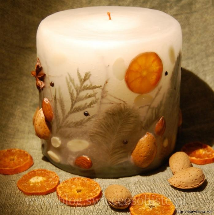 цветочные свечи ручной работы (30) (698x700, 323Kb)