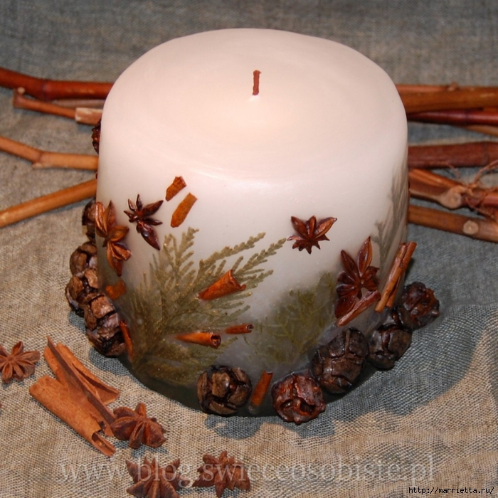цветочные свечи ручной работы (38) (700x700, 358KB)