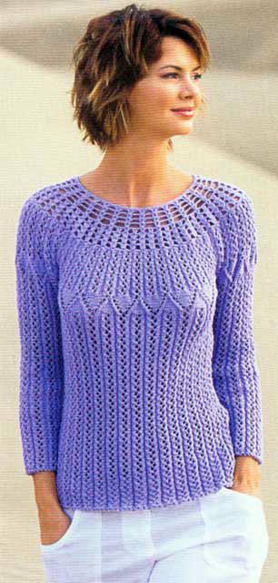 Вяжем кофты свитера