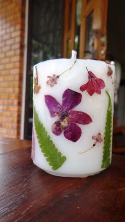 как сделать свечу с сухоцветами своими руками (13) (252x448, 57Kb)