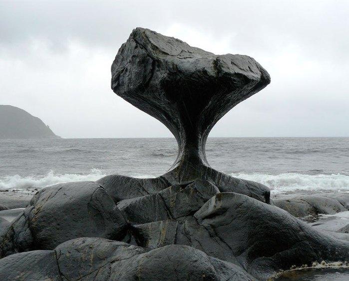 Камень Kannesteinen норвегия фото 3 (700x563, 72Kb)