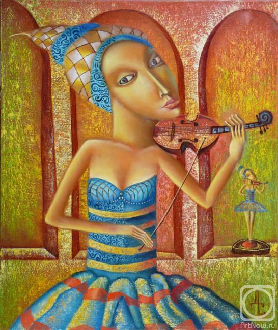 Любимая скрипка (546x650, 243Kb)