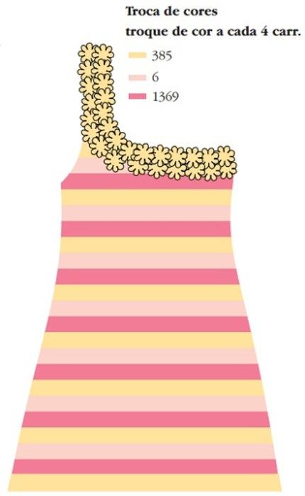 Связать красивое платье крючком по схеме
