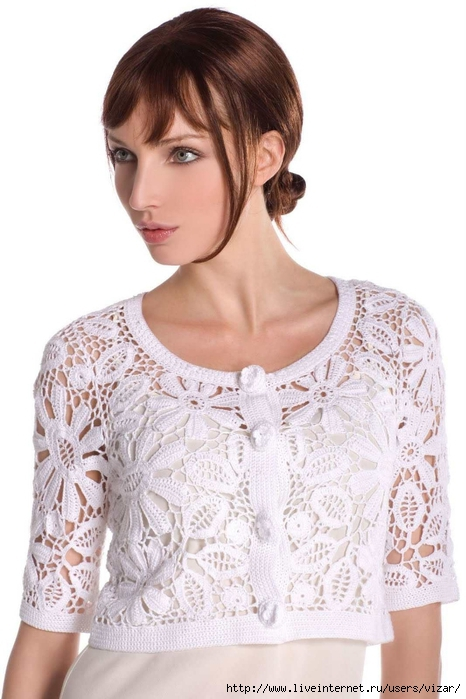 blanc irish crochet bolero (466x700, 204Kb)