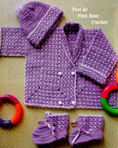 Вязание крючком для новорожденного (1) (239x300, 197Kb)