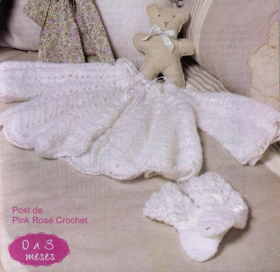 Вязание крючком для новорожденного (3) (557x541, 710Kb)