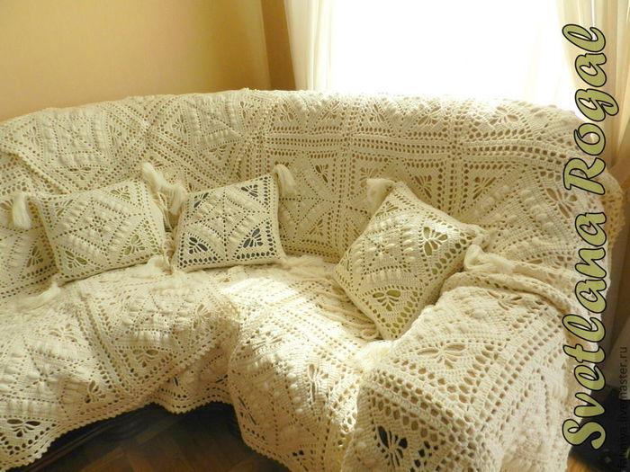 внешнему виду как связать плед на диван термобелье лучше для
