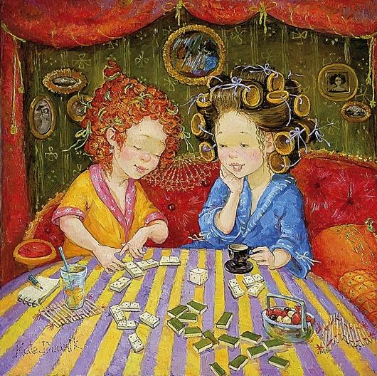 картины украинской художницы екатерины дудник 4 (530x528, 226Kb)
