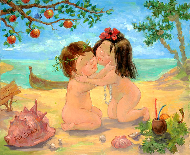 картины украинской художницы екатерины дудник 13 (623x507, 110Kb)