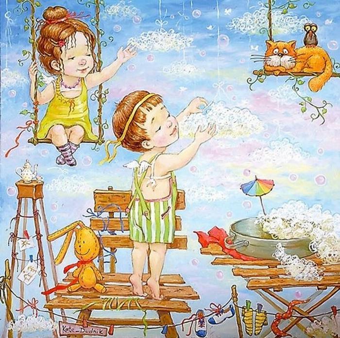 картины украинской художницы екатерины дудник 15 (700x696, 416Kb)