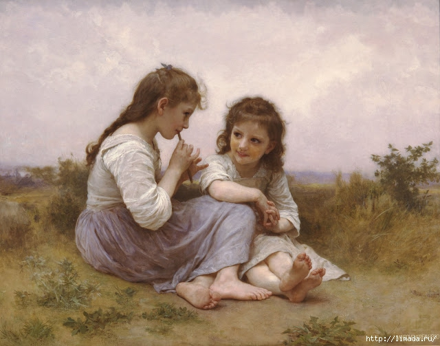 William-Adolphe_Bouguereau_%281825-1905%29_-_A_Childhood_Idyll_%281900%29 (640x503, 178Kb)