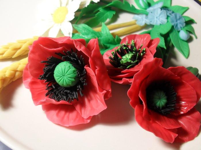 цветы из холодного фарфора (3) (700x522, 470Kb)